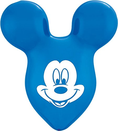 "Pioneer National Latex Mickey Mouse Ears 2 Count - 15"" Balloons, Assorted"