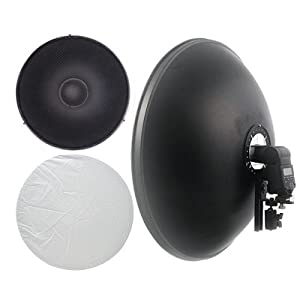"16"" ePhoto Beauty Dish Kit"