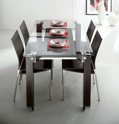 Cocktail Rectangular Table + Chairs