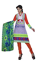 Parth Women's Cotton Unstitched Dress Material_1201_Multicolored_Freesize