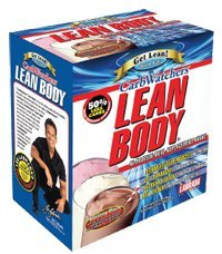 Labrada Nutrition Carb Watchers Lean Body Neapolitan 20 Packs Meal Replacements