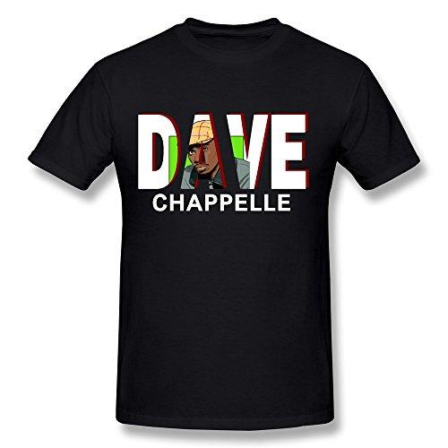 Men's Dave Chappelle Show T-shirts Graphic Size XL Black (Black Magic Console compare prices)