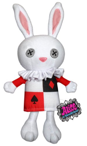 Alice in Wonderland: White Rabbit Plush - 1