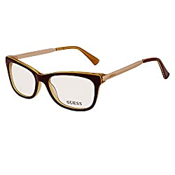 GUESS Maroon Cateye Power glasses or Computer Glasses (GU2487 069)