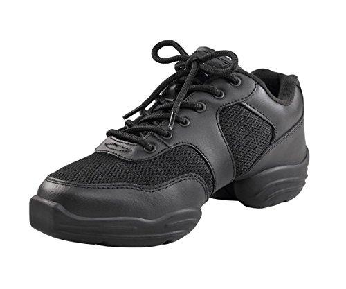 capezio-ds02-low-top-dansneaker-nero-black-36