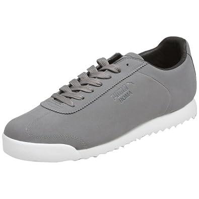 Puma Roma CC - Steel Grey / White, 12 D US
