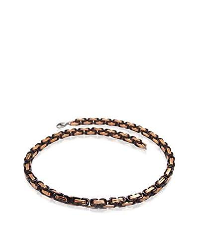 """Blackjack Jewelry Collar 24"""" Byzantine Link Chain 18K"""