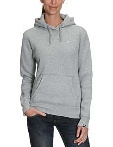 Nike Squad Womens Hooded Fleece Jumper - M, Grey (Dark