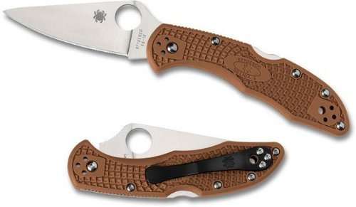Spyderco-Delica4-Lightweight-FRN-Flat-Ground-PlainEdge-Knife