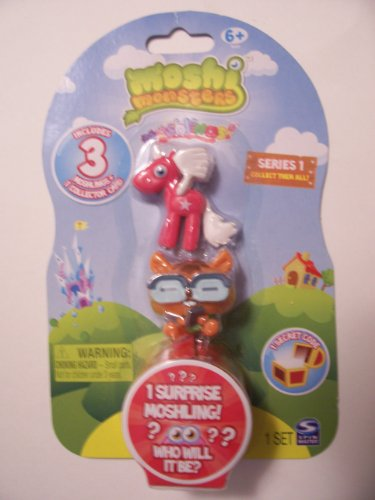 Moshi Monsters Series 1 Moshlings ~ Angel, Waldo & Surprise
