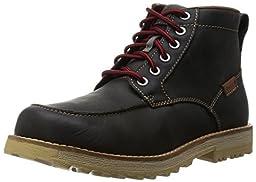 KEEN Men\'s The 59 Moc Toe Boot, Magnet Full Grain, 9.5 M US