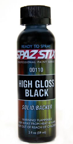 High Gloss Black / Backer Airbrush Paint 2oz - 1