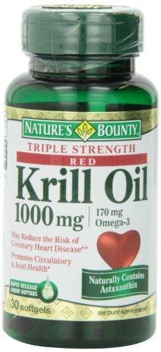 Bounty krill Max gélules, 30 comte Bouteille de