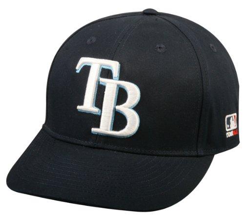 2013 Youth FLAT BRIM Tampa Bay Rays Home Navy Blue Hat Cap MLB Adjustable