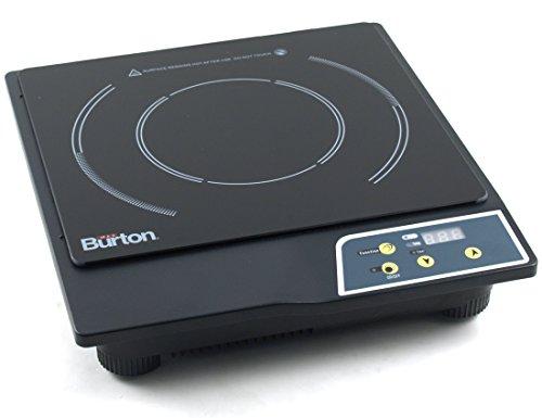Max Burton 6000 1800-Watt Portable Induction Cooktop, Black (Max Burton Induction Cooktop compare prices)