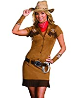 Dreamgirl Costumes Women's Cowgirl Diva