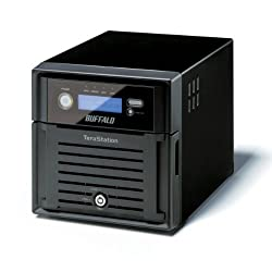 Buffalo Technology TeraStation Pro Duo 6 TB (2 x 3 TB) RAID High Performance Network Attached Storage TS-WVH6.0TL/R1 (Black)