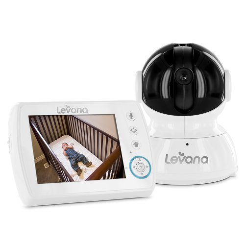 "Levana Astra 3.5"" Ptz Digital Baby Video Monitor With Talk To Baby Intercom (31006) front-219196"