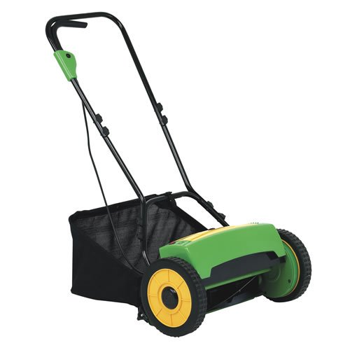 All Power America APT1216 GoMow 16-Inch 24-Volt Cordless Reel Lawn Mower with Grass Catcher