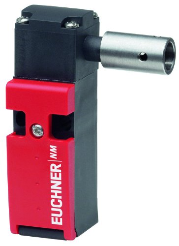 Euchner NM Long Design Safety Limit Switch with 8.2mm Hinged Actuator, 250V AC/DC Voltage, 3 x M16 x 1.5 Connection, 2NC + 1NO Positively Driven Contact