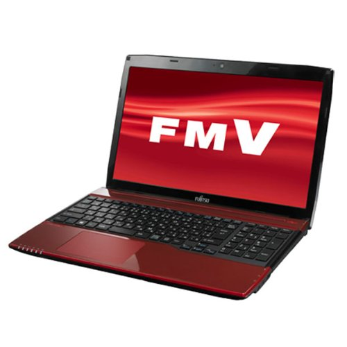 富士通 ノートパソコン FMV LIFEBOOK(Office Home and Business 2013搭載) FMVA45MRP2