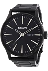 Nixon Sentry SS All Black Stainless Steel Men's Watch A356-001