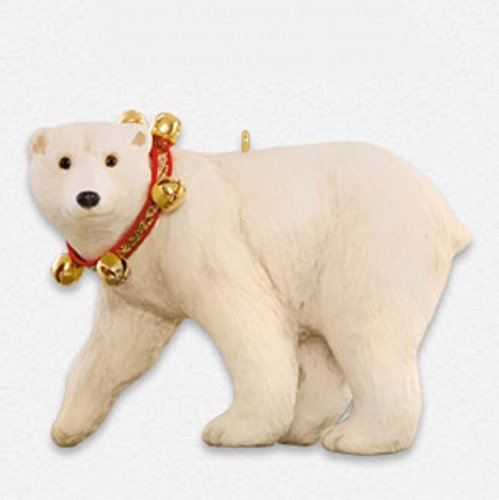 Father Christmas's Polar Bear Ornament 2015 Hallmark
