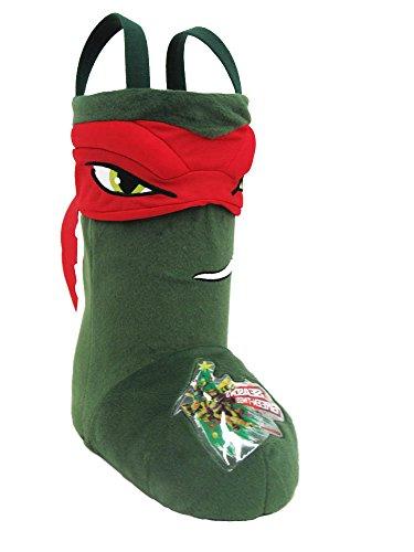Teenage Mutant Ninja Turtles Jumbo TMNT Raphael Standing Stocking (Ninja Turtle Stocking compare prices)