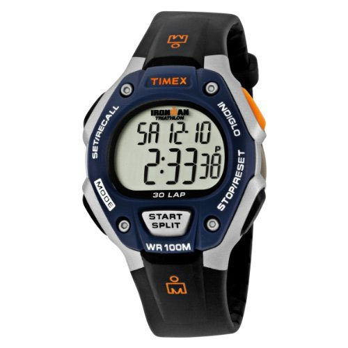 Timex Ironman Watch T5E931 Multi-function Triathlon 30 Lap