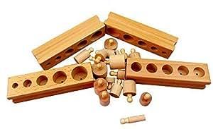 Montessori 4 mini cylinder blocks