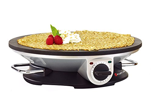 Health and Home No Edge Crepe Maker - 13 Inch Crepe Maker & Electric Griddle - Non-stick Pancake Maker- Waffle Maker- Crepe Pan (Crepe Electric Pan compare prices)