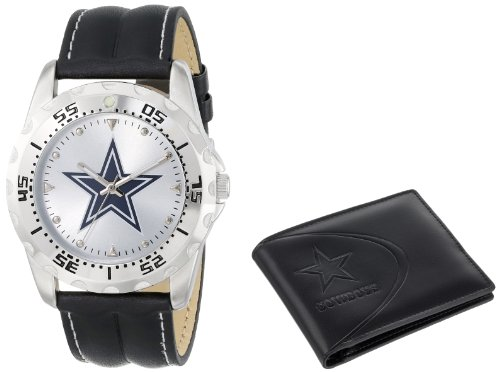 Game Time Unisex NFL-WWS-DAL Wallet and Dallas Cowboys NHL Watch Set at Amazon.com