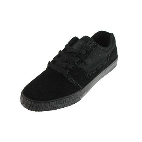 DC Men's Black Tonik Skate Shoe, Black/Black, 7.5 M US