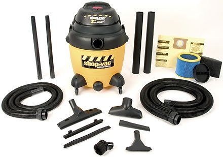 Buy Shop Vac Two-Stage 2.5 HP, 12 gallon poly tank w/ drain (Shop Vac Power Tools,Power & Hand Tools, Power Tools, Vacuums & Dust Collectors, Wet-Dry Vacuums)