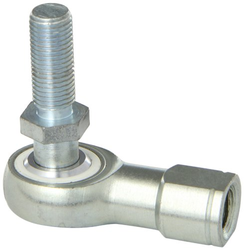 Sealmaster CTFDL 7Y Rod End Bearing With Y-Stud, Three Piece, Commercial, Self-Lubricating, Left Hand Female to Right Hand Male Shank, 7/16