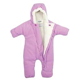 Cozy Cub Fleece Baby Bunting Snowsuit LT PINK 12-18 MOS.