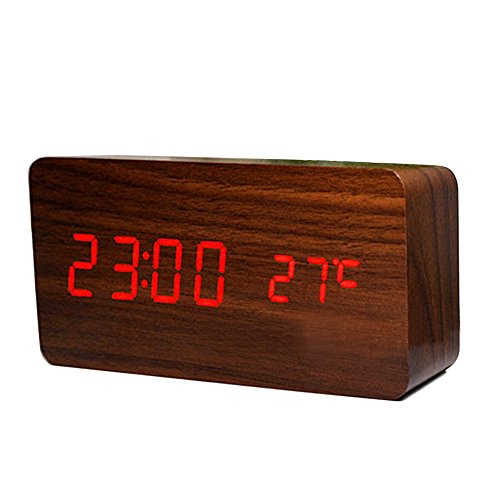 Ieasycan Registered Mail New LED Alarm Clock with Old style LED display electronic desktop Digital table Clock For Birthday Gift (Registered Mail compare prices)