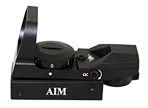 Aim Sports Red Dot Sight with 4 Different Reticles