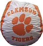 Bean Bag - Clemson - Orange / White