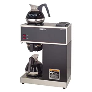 Bunn Coffee Maker Features : Amazon.com: Bunn VPR 12-cup Pourover Commercial Coffee Brewer: Kitchen & Dining