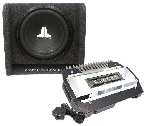 "Txa-1502 - Cadence 2-Channel Amplifier + Cp112W0V2 Jl Audio 12"" Subwoofer Enclosure Combo"