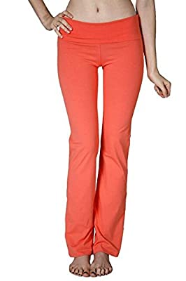 CordiU Basic Fold Over Waist Yoga Pants