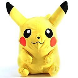Pokemon Diamond & Pearl Large Plush - Pikachu (10 Plush)