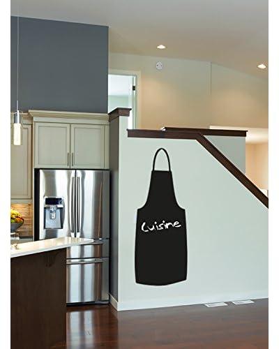 Ambiance Live Vinilo Decorativo Cooking apronboard (Includes Chalk) Negro