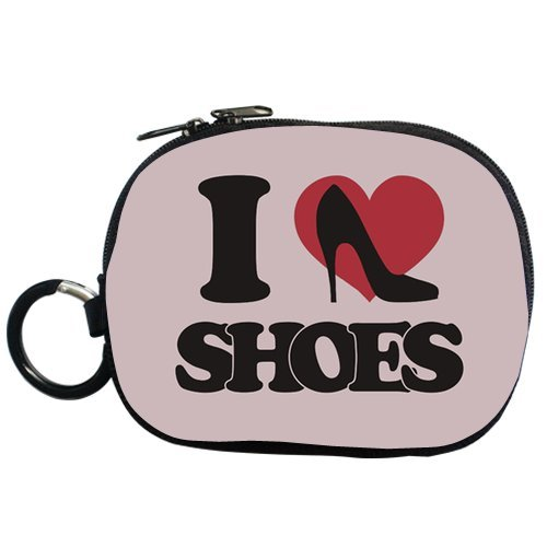 Generic Personalized I Love High Heels Shoes For Coin Purse (Two Side)