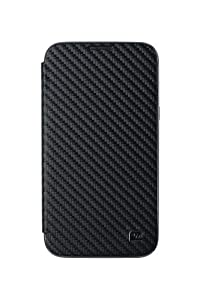 Anymode Kickstand Folio Cover Case for Samsung Galaxy Note 2 (Black)