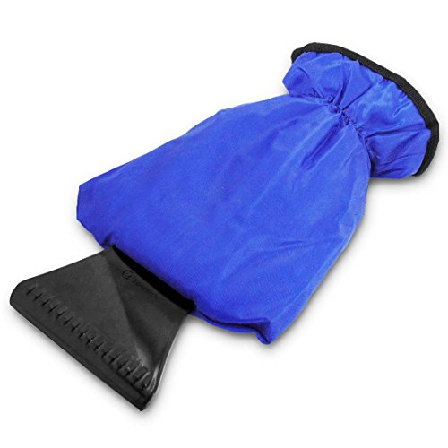 Zone Tech Blue Waterproof Ice Scraper Vehicle Mitt Car Windshield Snow Remover Glove (Ice Sweeper compare prices)