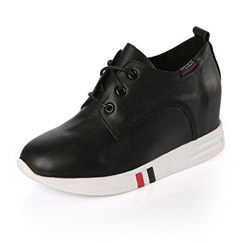 GGH Signore lavoro confortevole slittamento sui fannulloni delle donne scarpe casual Black,37