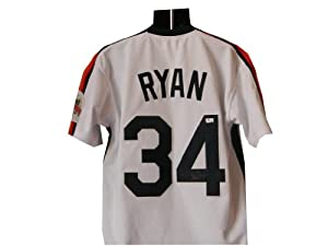 Autographed Nolan Ryan Houston Astros Jersey