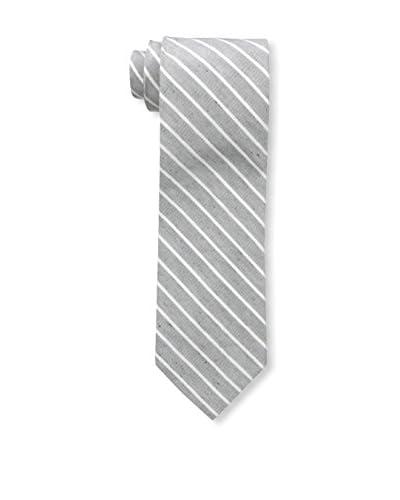 Bruno Piatelli Men's Printed Silk Tie, Grey